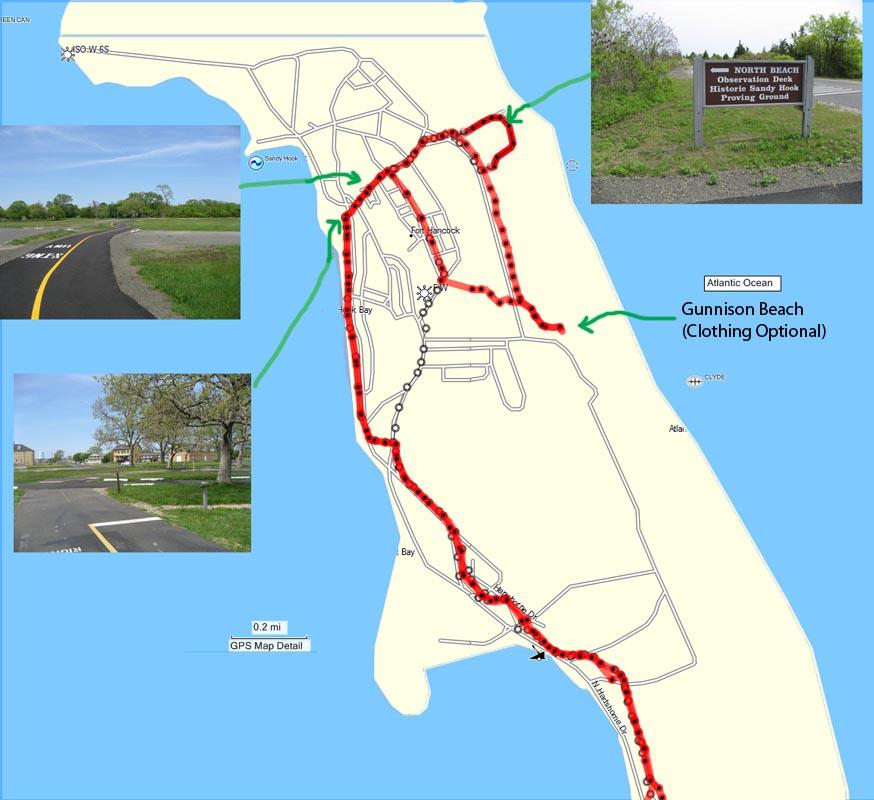 Sandy Hook Bike Path